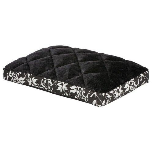 Лежак для собак и кошек Midwest Sofia в клетку 56х33 см черный