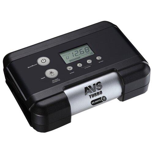 Автомобильный компрессор AVS KE300TL черный/серебристый автомобильный компрессор avs ks450l серый