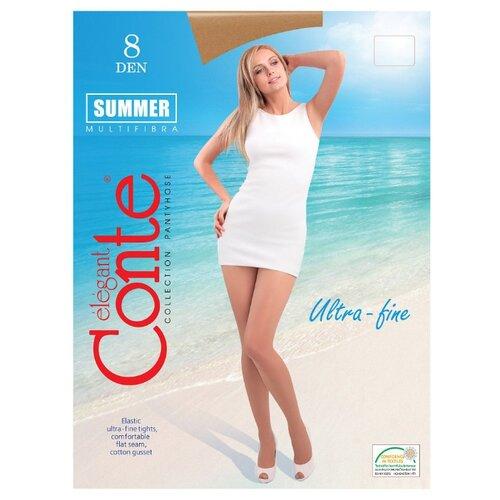 Фото - Колготки Conte Elegant Summer 8 den, размер 2, bronz (бежевый) комплект conte elegant conte elegant mp002xw13v8a