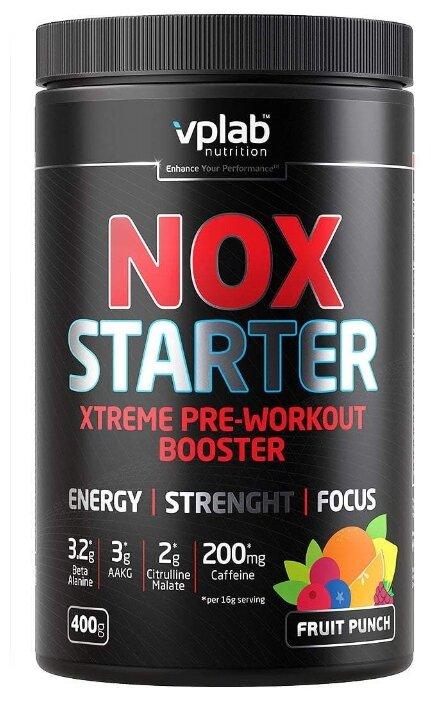 Купить Предтренировочный комплекс vplab NOX Starter (400 г) фруктовый пунш по низкой цене с доставкой из Яндекс.Маркета