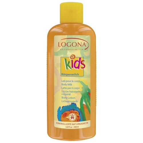 Купить Logona Детское молочко для тела Kids, 200 мл, Уход за кожей