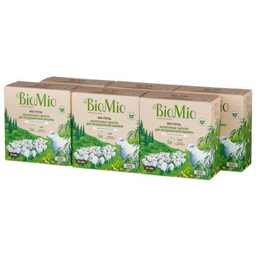 BioMio Bio-total таблетки для посудомоечной машины, 180 шт.