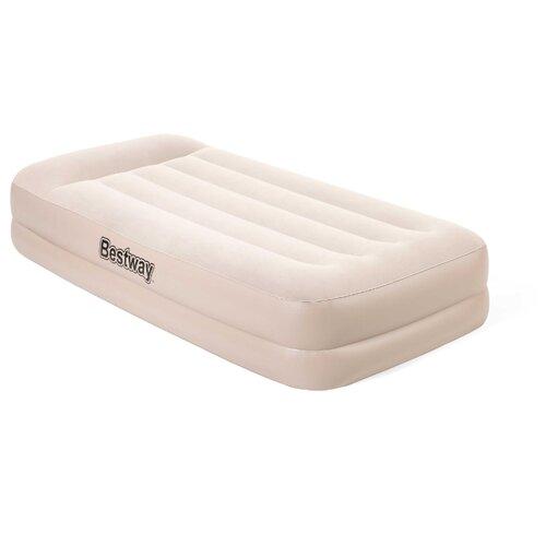 Надувная кровать Bestway Tritech Airbed Twin 67694 надувная кровать bestway tritech airbed queen built in ac pump 67403 темно синий