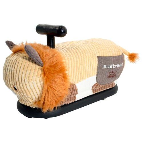цена на Каталка-толокар Italtrike La Cosa Soft Lion со звуковыми эффектами оранжевый