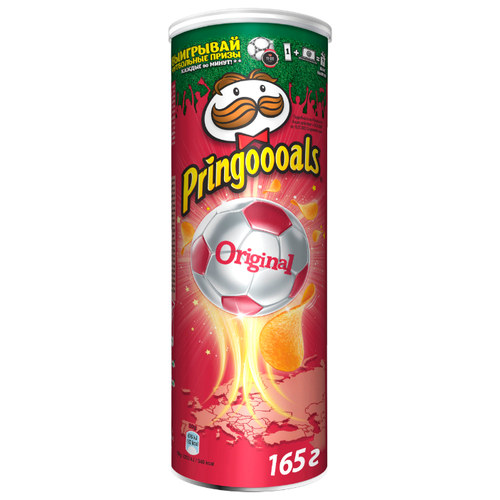 Чипсы Pringles картофельные Original, 165 г чипсы pringles картофельные crab 70 г