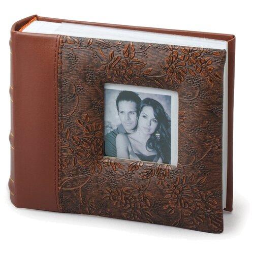 цена на Фотоальбом BRAUBERG 390693, 100 фото, для формата 10 х 15, коричневый