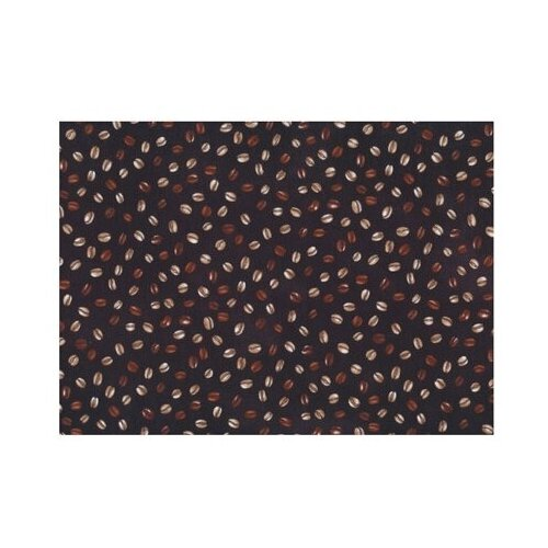Ткань PePPY 4550 PANEL для пэчворка фасовка 60 x 142 см 135±5 г/кв.м Кофе 007