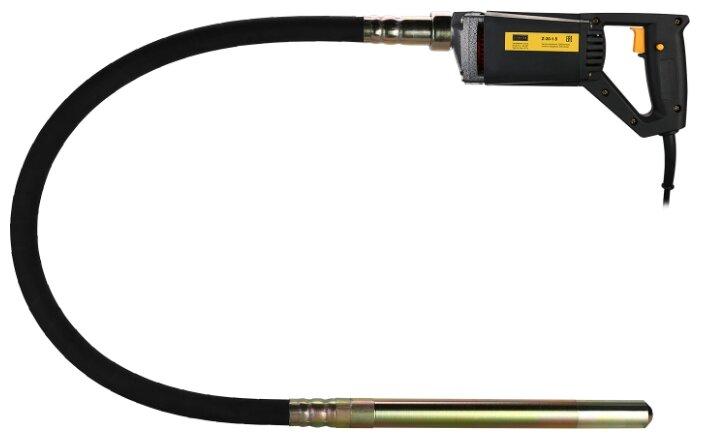 Вибратор портативный Zitrek Z-900 045-0049-4 (220В) вал 1,5 м. со встроенной булавой ф-35 мм.