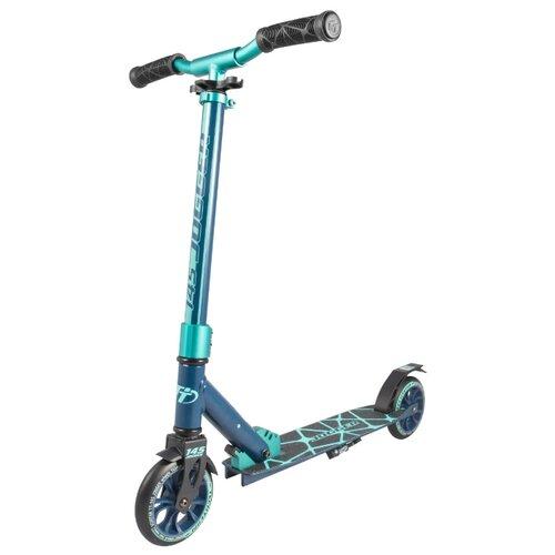 Спортивный самокат Tech Team TT 145 Jogger 2019 синий/голубой