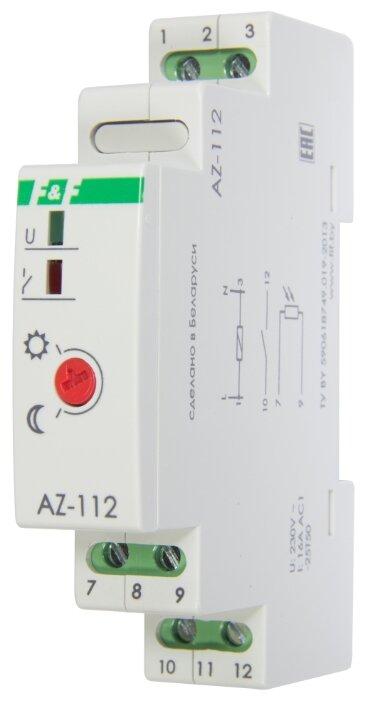 Сумеречный выключатель для распределительного щита F & F AZ-112 серый