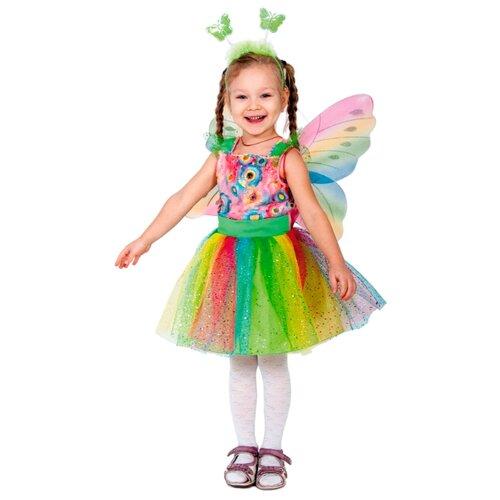 Купить Костюм КарнавалOFF Бабочка (5003), разноцветный, размер 92-110, Карнавальные костюмы