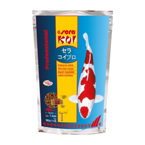 Сухой корм для рыб Sera Koi Professional лето 500 г