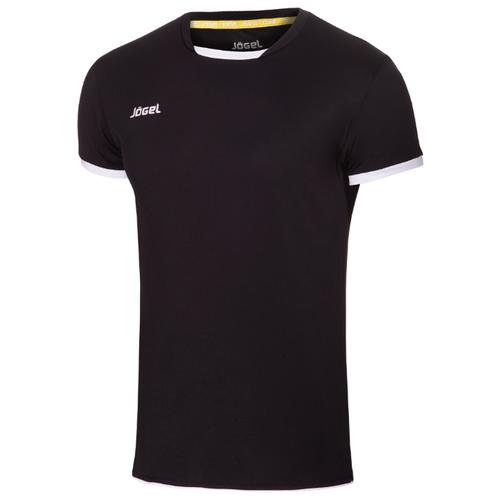 Футболка Jogel размер XS, черный/белый платье oodji ultra цвет красный белый 14001071 13 46148 4512s размер xs 42 170
