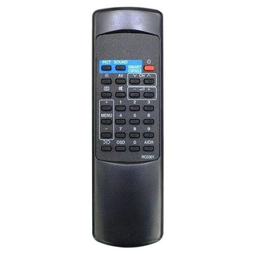 Фото - Пульт ДУ Huayu RC-0301/01 для телевизоров Philips 14GX8310/14GX8510/14GX8512/20GX3755/20GX8350/21PT138A, черный пульт ду huayu rc 19335019 01 для телевизоров philips 14pf6826 26pf8946 20pf8846 17pf8946 серый