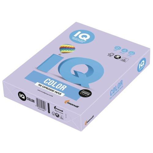 Фото - Бумага IQ color А4 Color 160 г/м2, 250 лист. бледно-лиловый LA12 1 шт. майка лунокот размер 128 бледно розовый