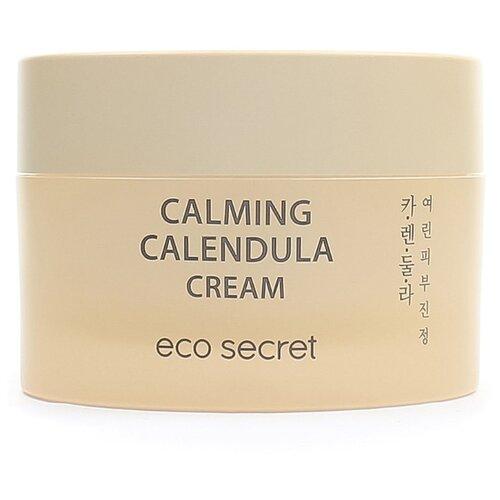 Eco Secret Calming Calendula Cream Увлажняющий крем для лица с календулой, 50 мл успокаивающий тонер для лица ac collection calming liquid intensive 125мл