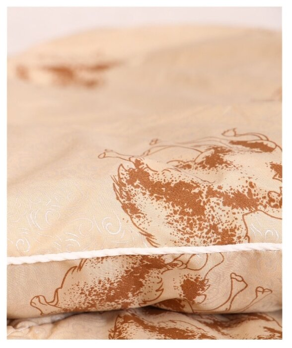Купить Одеяло Спаленка Верблюд Элит 2,0 сп коричневый по низкой цене с доставкой из Яндекс.Маркета (бывший Беру)