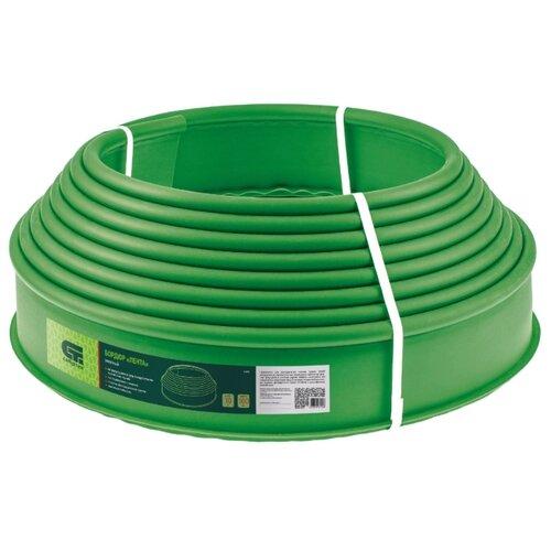 Бордюр Сибртех Лента, зеленый, 10 х 0.1 м
