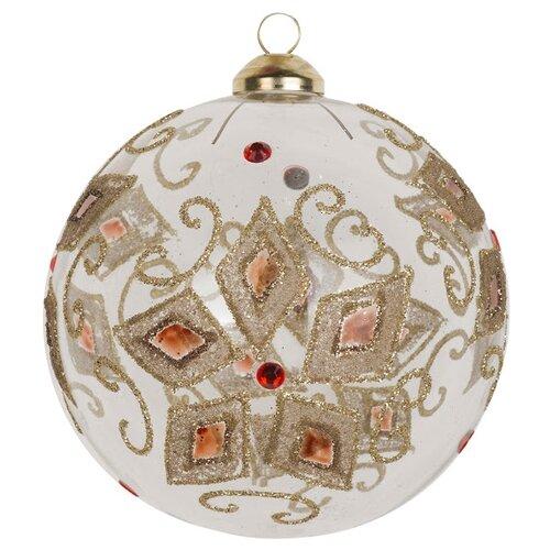 Набор шаров KARLSBACH 07308, прозрачный/золотой