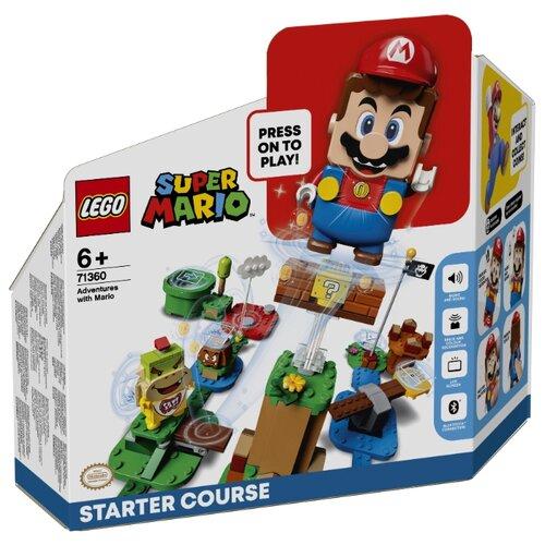 Купить Конструктор LEGO Super Mario 71360 Стартовый набор Приключения вместе с Марио, Конструкторы