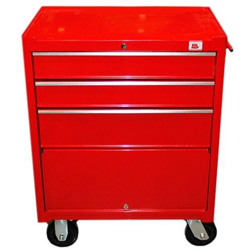 Тележка Big Red TBR3003-X ящики: 4 шт. красный тележка matrix 906605 ящики 10 шт серый