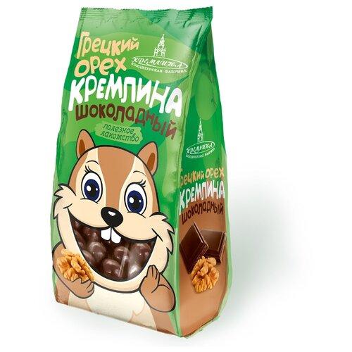 Грецкий орех Кремлина в шоколадной глазури, 135 г чернослив шоколадный кремлина самолет в резной деревянной шкатулке 400 г