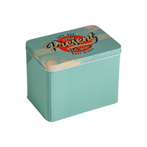 Коробка подарочная Дарите счастье Gift box 16 х 11 х 12.5 см зеленый недорого