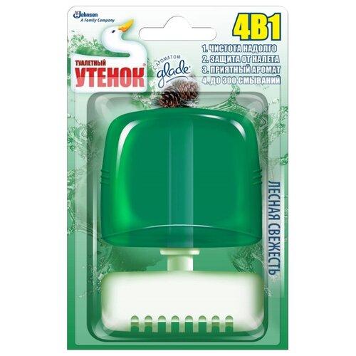Туалетный утенок туалетный блок Лесная свежесть 0.55 л 1 шт. туалетный утенок туалетный блок лесная свежесть 0 55 л 1 шт