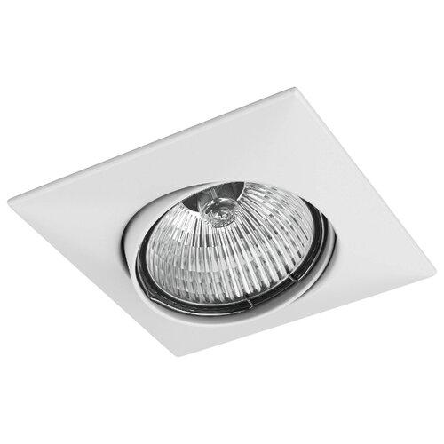 Встраиваемый светильник Lightstar Lega QUA 011030 спот lightstar ottico qua 214429