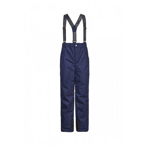 Купить Брюки Oldos Стич ASS101TPT00 размер 104, темно-синий, Полукомбинезоны и брюки