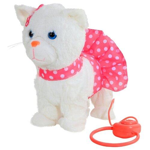 Фото - Мягкая игрушка Пушистые друзья Кошечка в розовой юбочке на мягком поводке 20 см кмит елена пушистые друзья барашек бяша