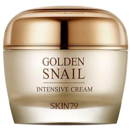 Skin79 Golden Snail Intensive Cream Крем для лица с улиточным муцином и золотом, 50 мл натуротерапия skipofit golden 24k крем для лица дневной с золотом скипофит 30 мл