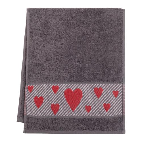 Этель полотенце Антистресс универсальное 30х70 см серый