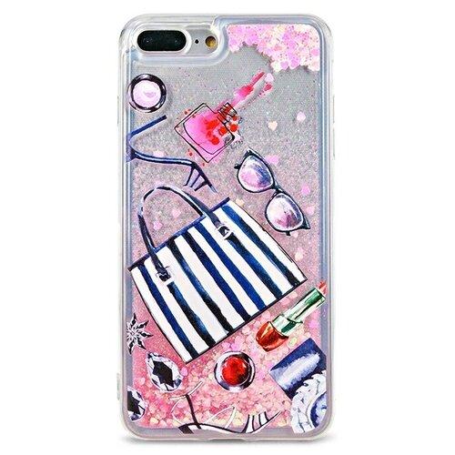 Чехол Pastila Life Style для Apple iPhone 7 Plus/iPhone 8 Plus Все, что надо skinbox silicone chrome border color style 1 4people чехол для apple iphone 7 8 green