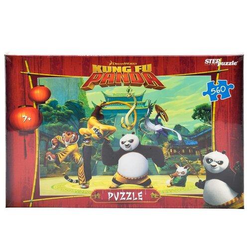 Купить Пазл Step puzzle Кунг-фу Панда (97041), 560 дет., Пазлы