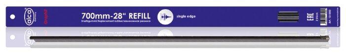 """Лента стеклоочистителя ALCA Refill Single Edge 28"""" 700 мм, 2 шт."""