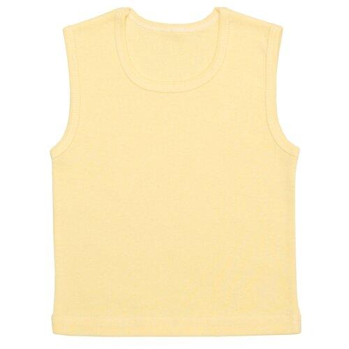 Купить Майка Чудесные одежки размер 74, желтый, Белье