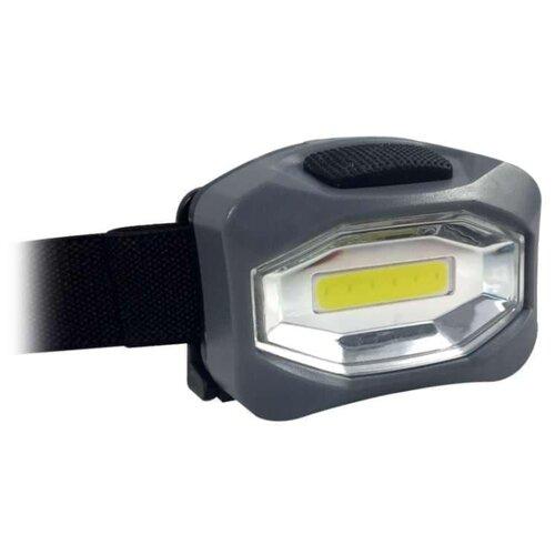 Налобный фонарь КОСМОС H101COB серый налобный фонарь fenix raptor hm65r