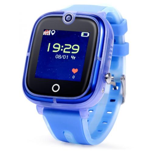 Детские умные часы Smart Baby Watch KT07, голубой умные часы smart baby watch s4 голубой