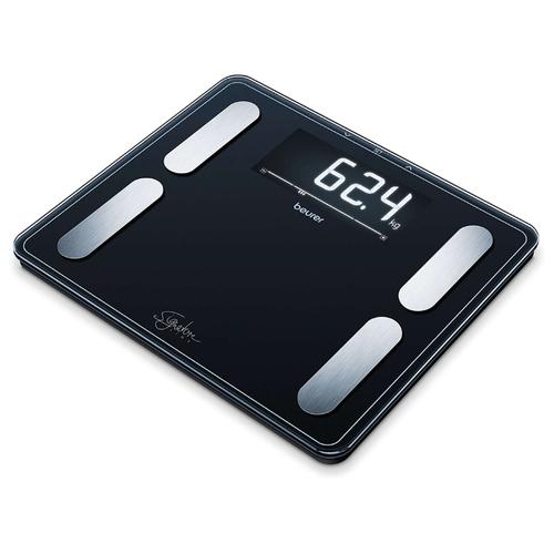 Фото - Весы электронные Beurer BF410 Signature Line Black весы напольные beurer bf410 чёрный