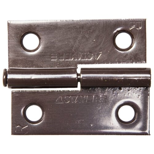 Врезная петля STAYER MASTER 37613-50 R 50x43x1.8 мм коричневый 1 шт.