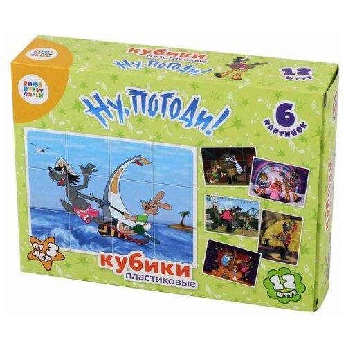 Купить Кубики-пазлы Десятое королевство Ну, погоди! 03521, Детские кубики