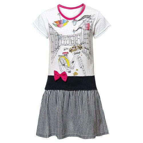 Платье M&D размер 92, малиновый