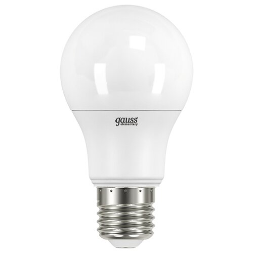 Лампа светодиодная gauss 23227А, E27, A60, 7Вт лампа светодиодная gauss 23219 e27 a60 20вт