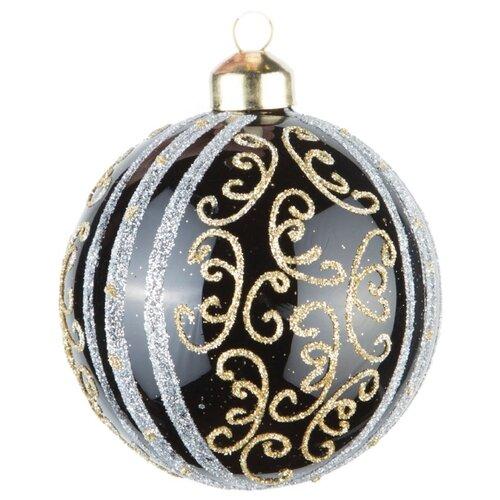 Набор шаров KARLSBACH 08360, черный/золотой