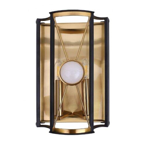 Настенный светильник Crystal Lux Tandem AP2 Gold, 120 Вт недорого