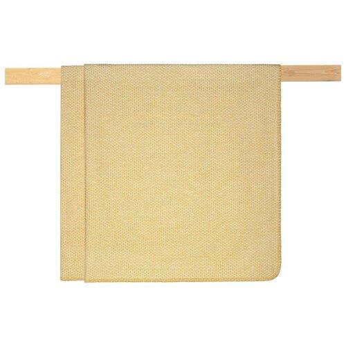 Плед Arya Reid 200 х 220 см, желтый плед estro vaniglia 220 х 200 см