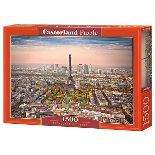Купить Пазл Castorland Вид Парижа (C-151837), 1500 дет., Пазлы