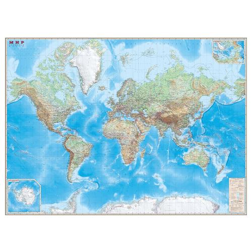 DMB Карта Мира обзорная 1:15 (4607048959138)