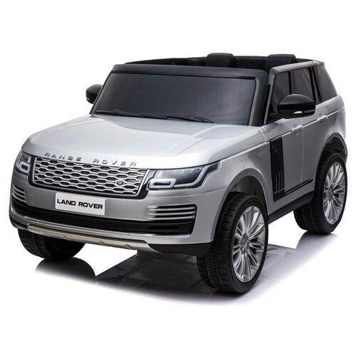Купить RiverToys Автомобиль Range Rover HSE 4WD, серебристый глянец, Электромобили
